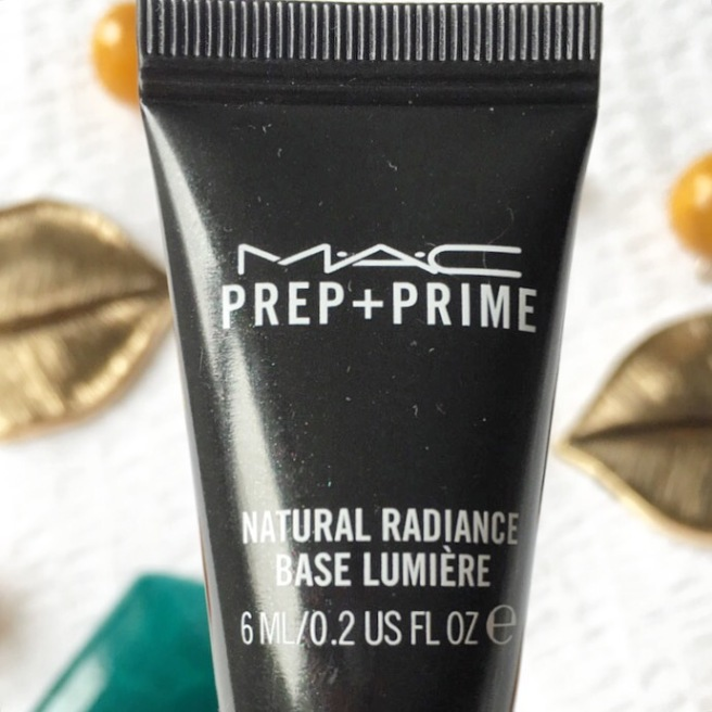 mac prep and prime natural radiance how to use