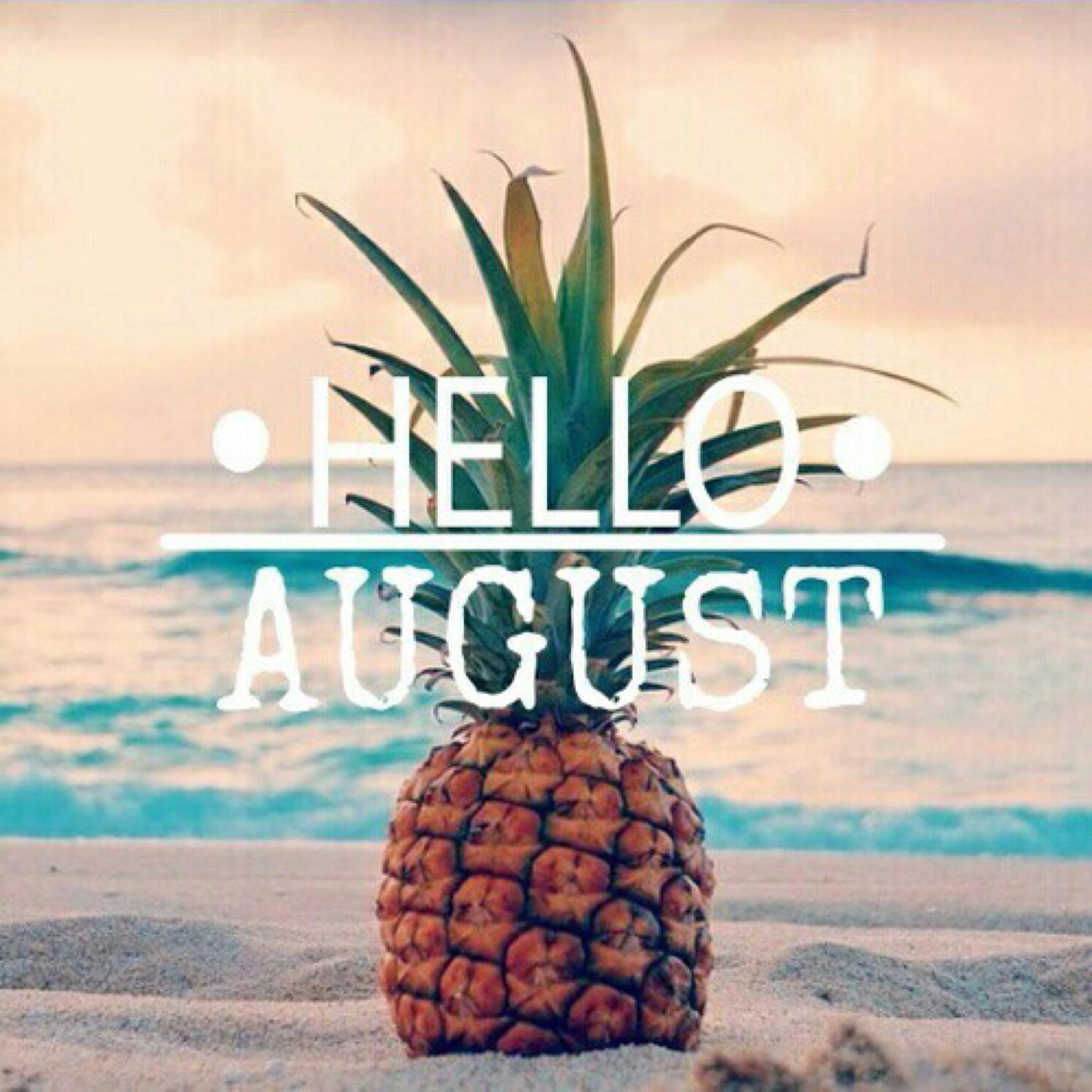 Delightful Hello August, Hello Blog